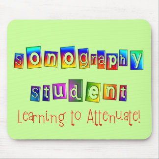 Sonography Student Gifts Mouse Pad