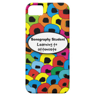 Sonography Student iPhone 5 Case Abstract