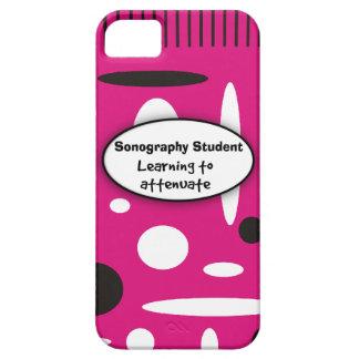 Sonography Student iPhone 5 Case Fuschia Black