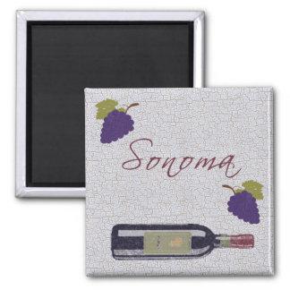 Sonoma 2 Inch Square Magnet