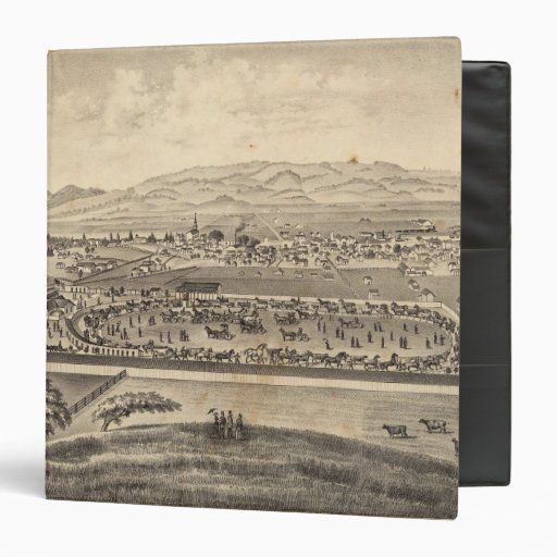 Sonoma and Marin District Agricultural Society 3 Ring Binders