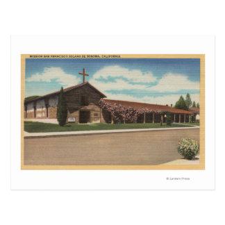 Sonoma, CA - misión San Francisco Solano Postales