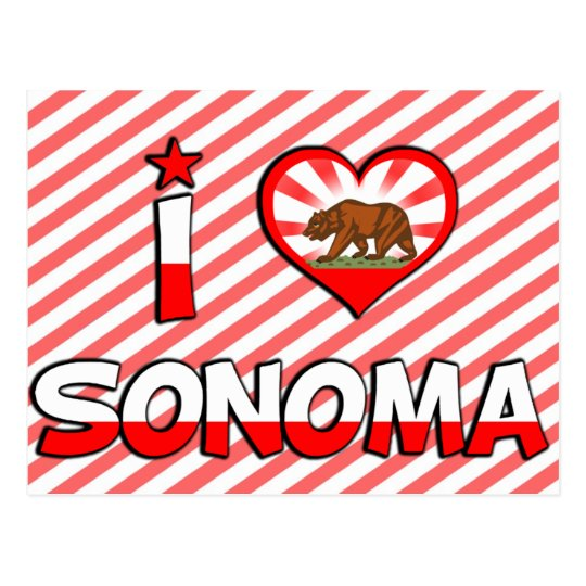 Sonoma, CA Postcard