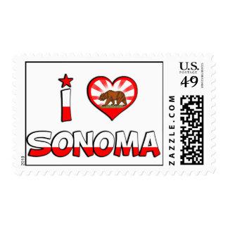 Sonoma, CA Sello