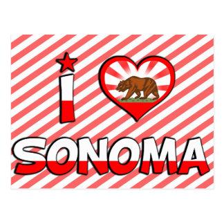Sonoma, CA Postales