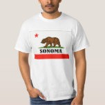 Sonoma, California Playera