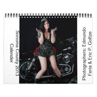 Sonoma County 2013 Calender Calendar