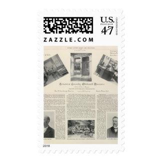 Sonoma County Abstract Bureau, California Postage