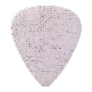 Sonoma County, California 10 2 Acetal Guitar Pick