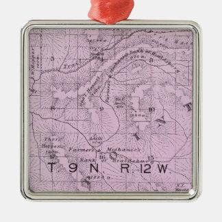 Sonoma County, California 10 Metal Ornament
