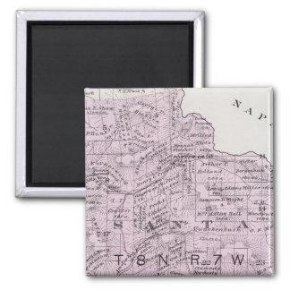 Sonoma County, California 12 2 Inch Square Magnet