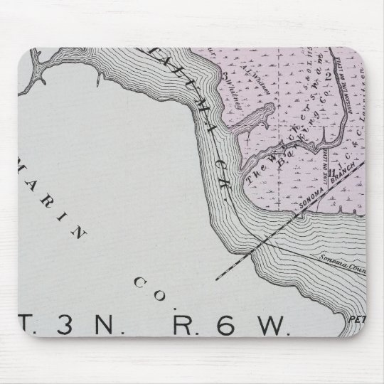Sonoma County, California 13 Mouse Pad