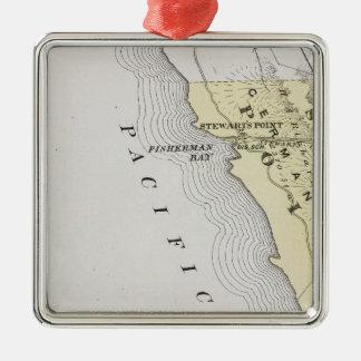 Sonoma County, California 14 Metal Ornament