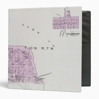 Sonoma County, California 16 3 Ring Binder
