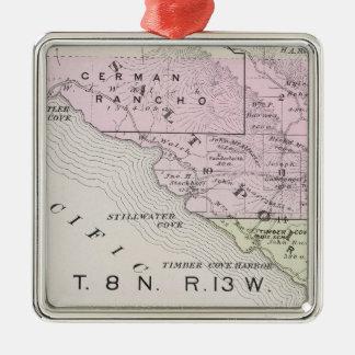 Sonoma County, California 17 Metal Ornament