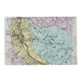 Sonoma County, California 18 Placemat
