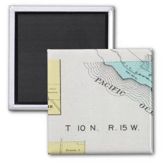 Sonoma County, California 19 2 Inch Square Magnet
