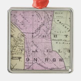 Sonoma County, California 19 Metal Ornament