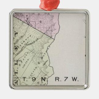Sonoma County, California 20 Metal Ornament