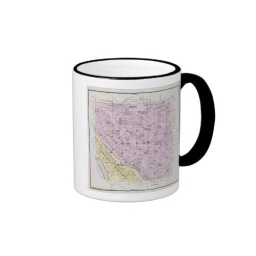 Sonoma County, California 20 Ringer Coffee Mug