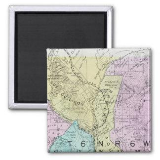 Sonoma County, California 21 2 Inch Square Magnet