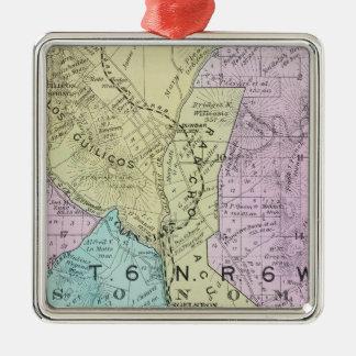 Sonoma County, California 21 Metal Ornament