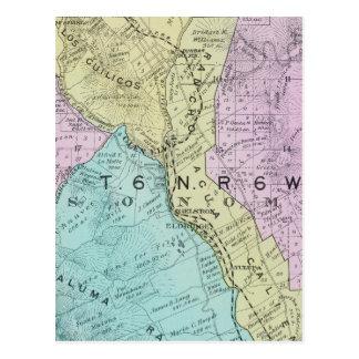 Sonoma County California 21 Post Card
