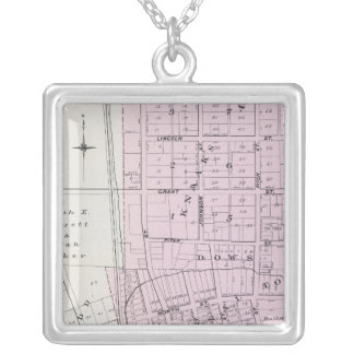 Sonoma County, California 22 Square Pendant Necklace