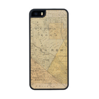Sonoma County, California 22 Wood Phone Case For iPhone SE/5/5s