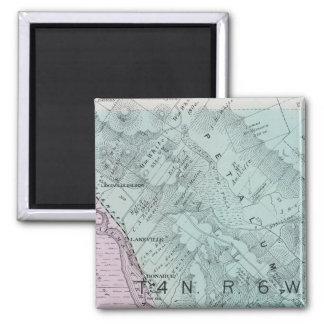 Sonoma County, California 23 2 Inch Square Magnet