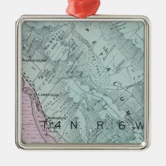 Sonoma County, California 23 Metal Ornament