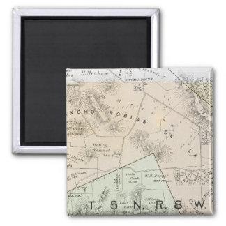 Sonoma County, California 25 2 Inch Square Magnet