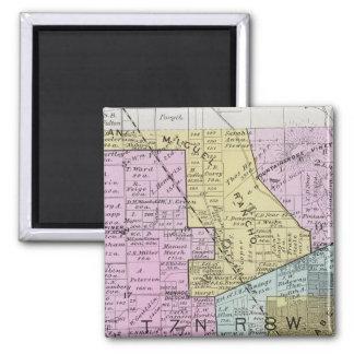 Sonoma County, California 27 2 Inch Square Magnet
