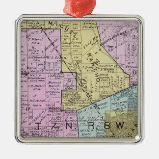 Sonoma County, California 27 Metal Ornament