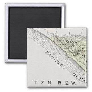 Sonoma County, California 28 2 Inch Square Magnet
