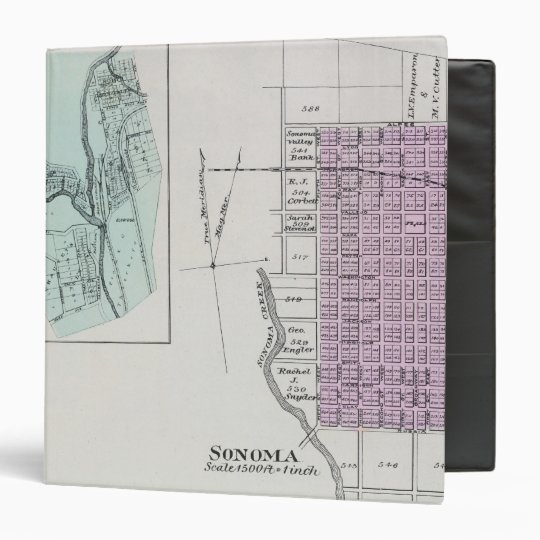Sonoma County, California 28 3 Ring Binder