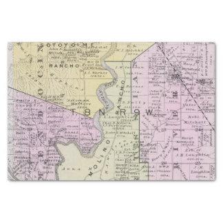 """Sonoma County, California 2 10"""" X 15"""" Tissue Paper"""