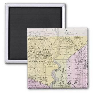 Sonoma County, California 2 2 Inch Square Magnet