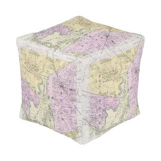 Sonoma County, California 2 Cube Pouf