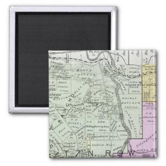 Sonoma County, California 2 Inch Square Magnet