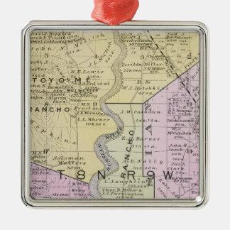 Sonoma County, California 2 Metal Ornament