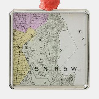Sonoma County, California 30 Metal Ornament