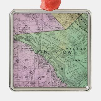 Sonoma County, California 31 Metal Ornament