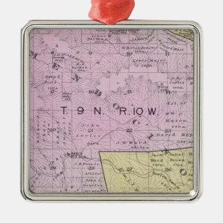 Sonoma County, California 32 Metal Ornament