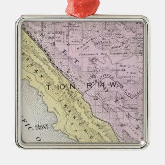 Sonoma County, California 34 Metal Ornament