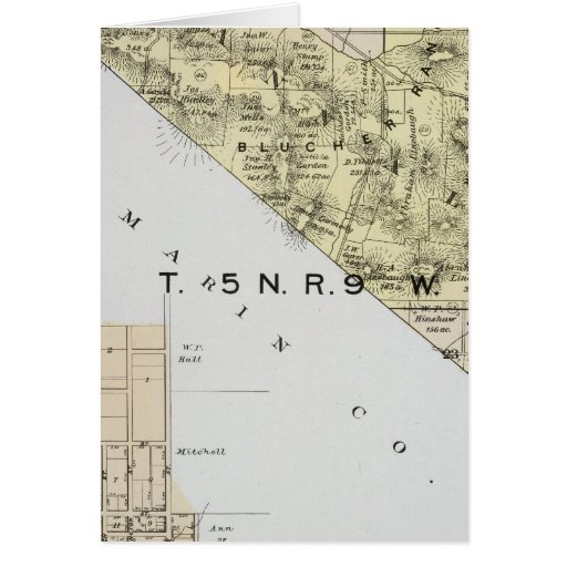 Sonoma County, California 3 Greeting Card
