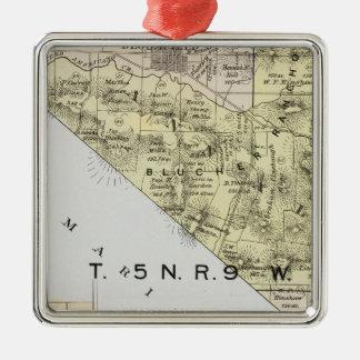 Sonoma County, California 3 Metal Ornament