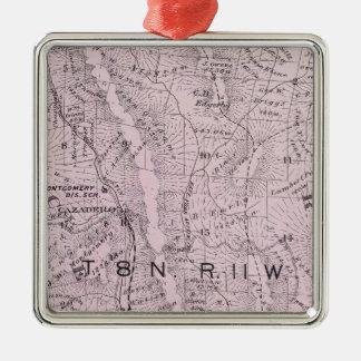 Sonoma County, California 4 Metal Ornament