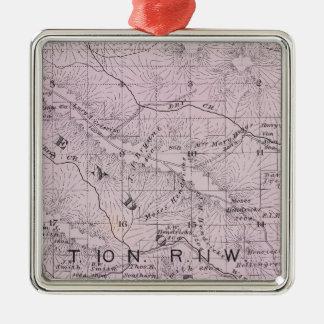 Sonoma County, California 5 Metal Ornament