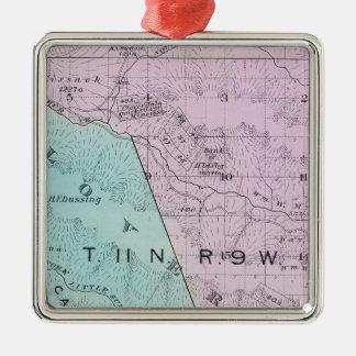 Sonoma County, California 6 Metal Ornament
